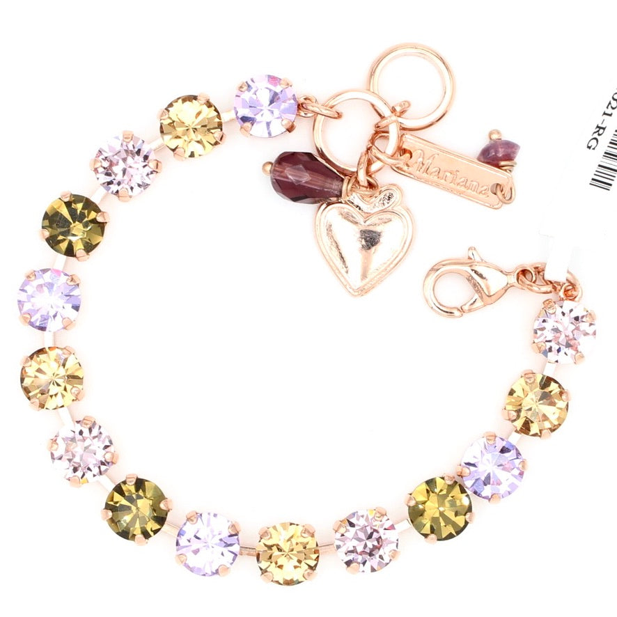 Audrey Collection Must Have Crystal Bracelet in Rose Gold