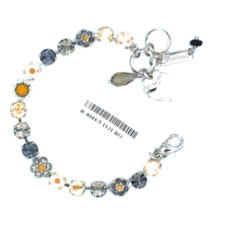 Painted Lady Collection Must Have 7MM Crystal Flower Bracelet