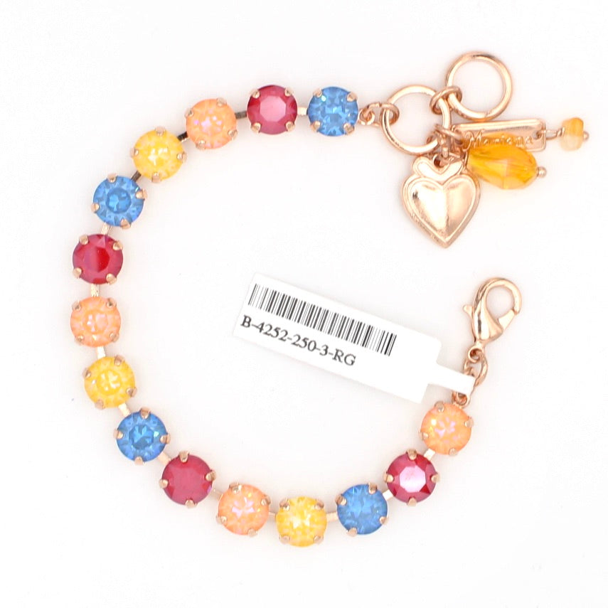 Colorsong Sunkissed  Must Have Crystal Bracelet in Rose Gold
