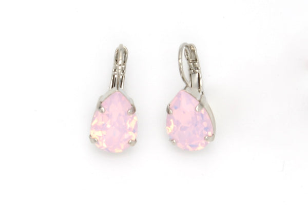 Rosewater Opal Pear Shaped Earrings