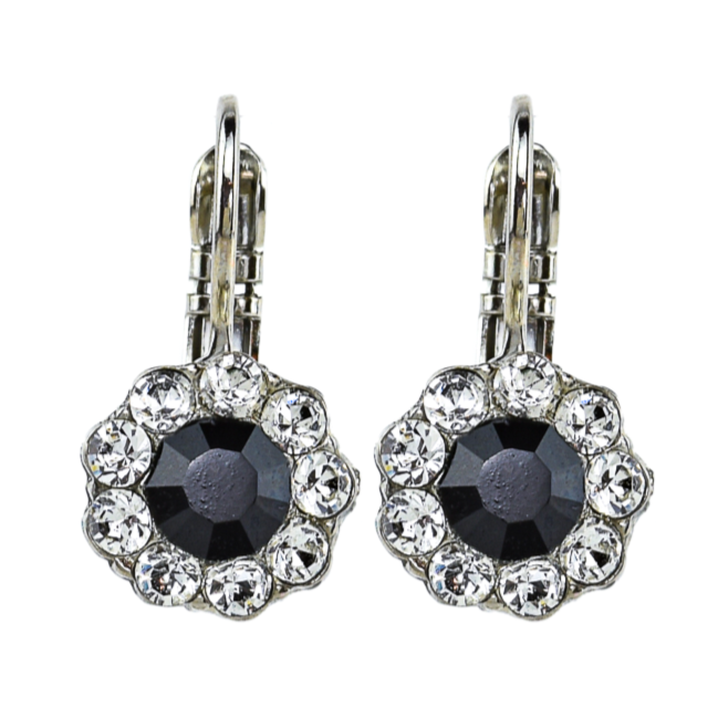 Checkmate Collection Must Have Crystal Flower Earrings