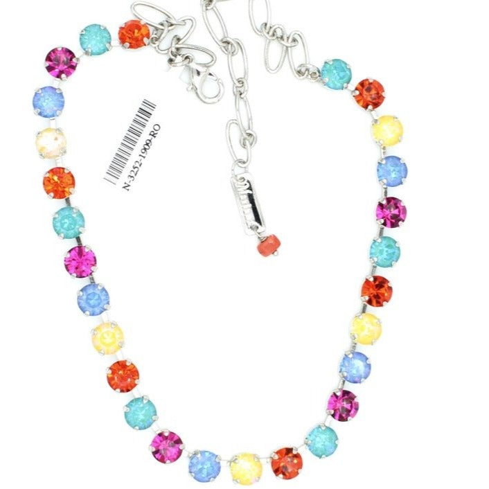 Poppy Collection 8.5MM Crystal Necklace