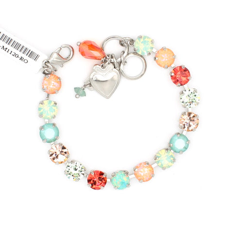 Peachy Keen Must Have 8.5MM Flower Bracelet