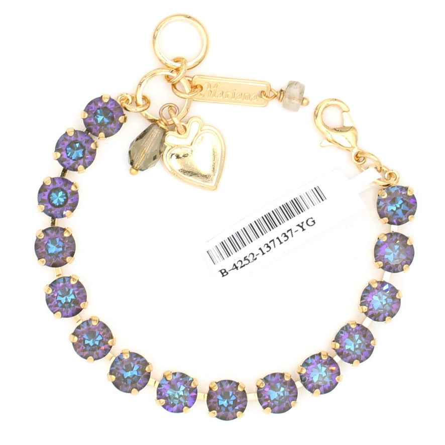 Midnight Sunkissed Must Have Crystal Bracelet in Yellow Gold