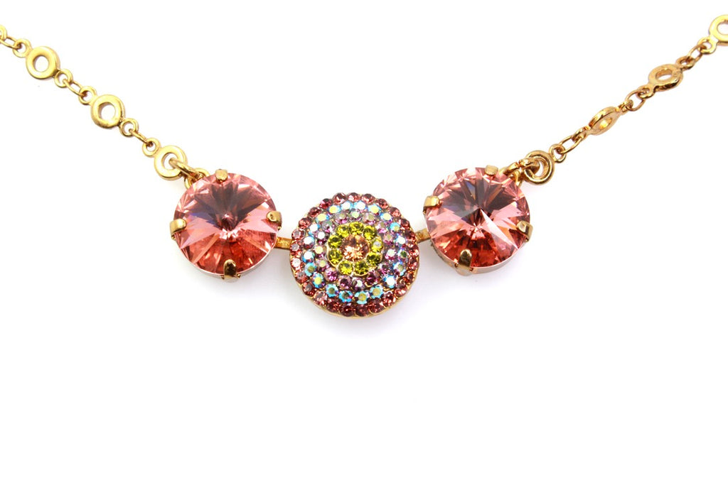 Penelope Collection Rivoli Crystal Necklace