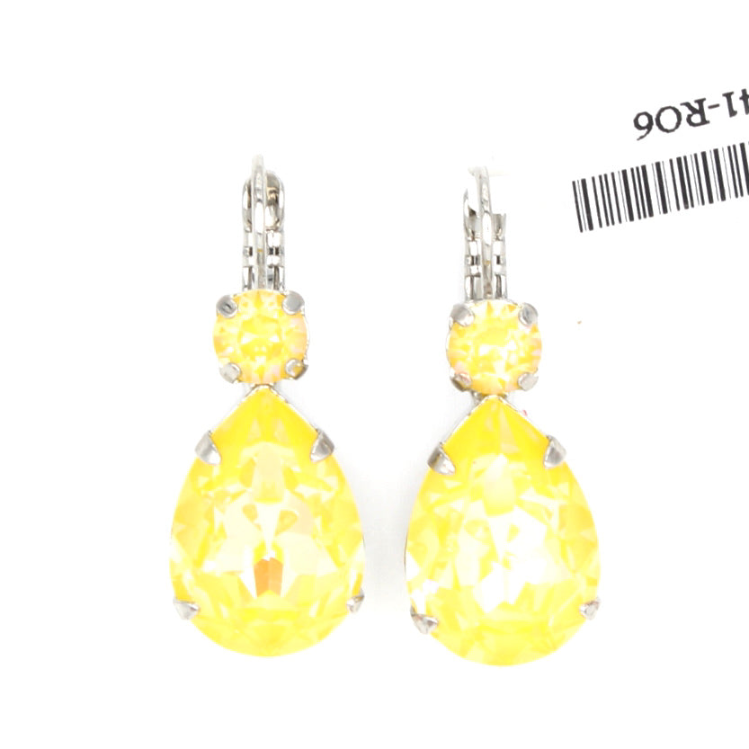 Sunshine Sunkissed Large Pear Earrings