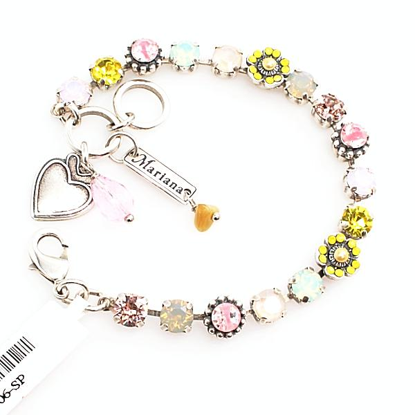 Lantana Small Ornate Flower Bracelet