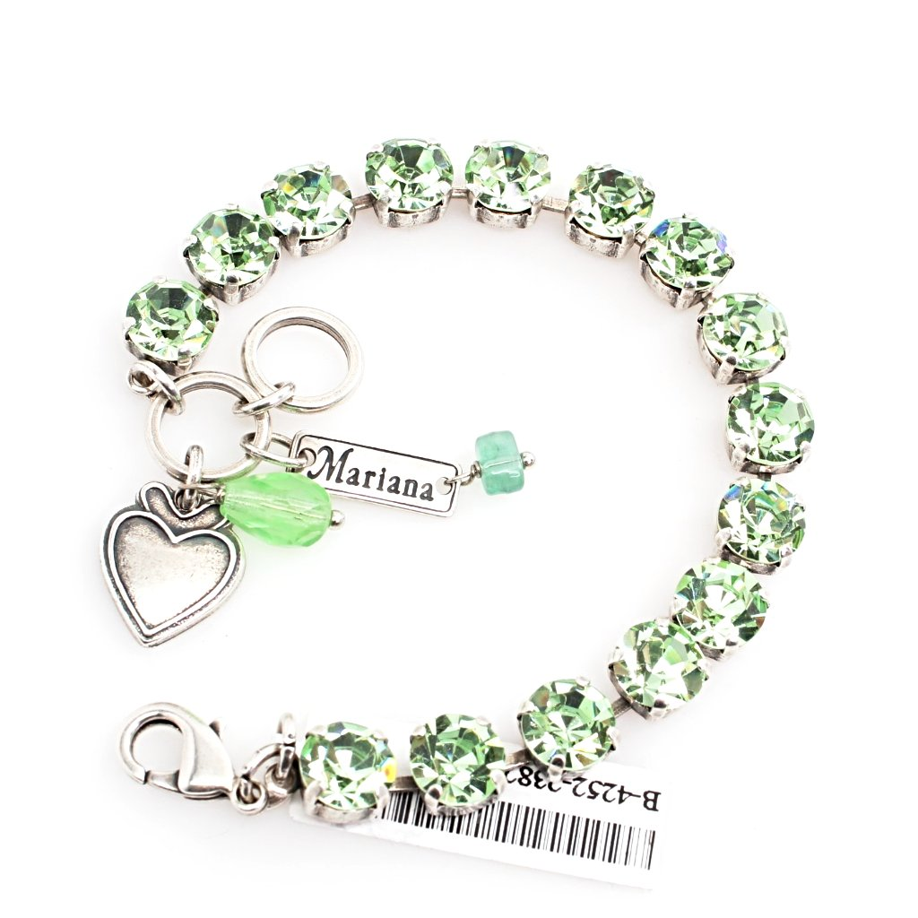 Chrysolite Medium Crystal Bracelet