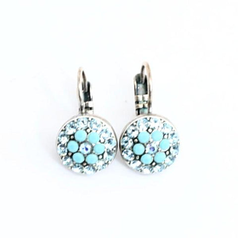 Bliss Collection Small Crystal Earrings
