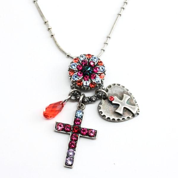 Joy Collection Cross Charm Necklace