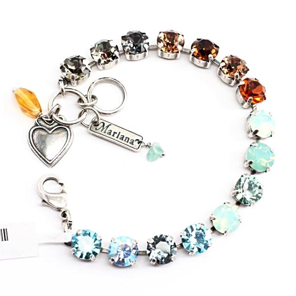 Forget Me Not Medium Crystal Bracelet