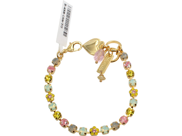 Lantana Collection Petite Crystal Bracelet in Gold