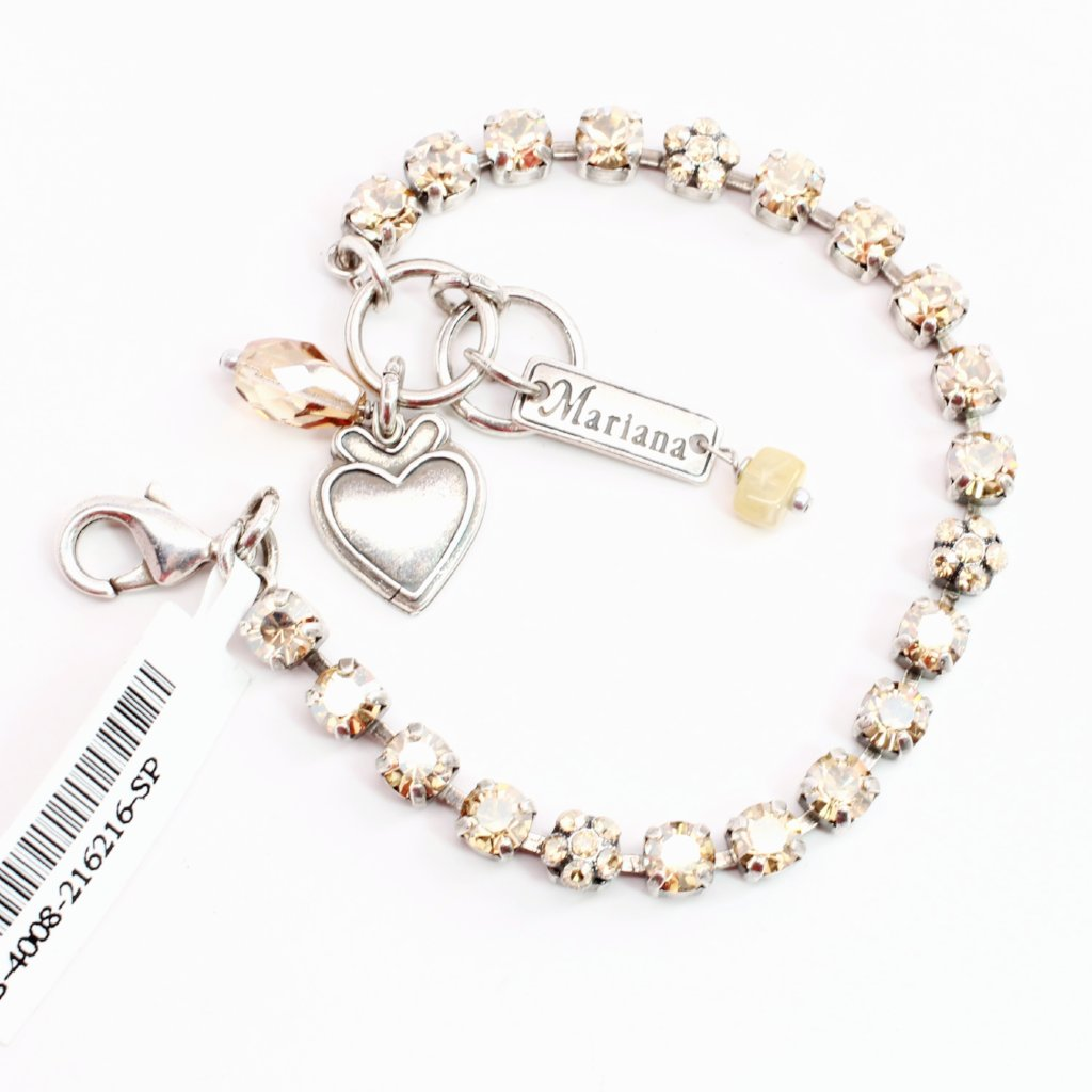 Golden Shadow Petite Crystal Bracelet
