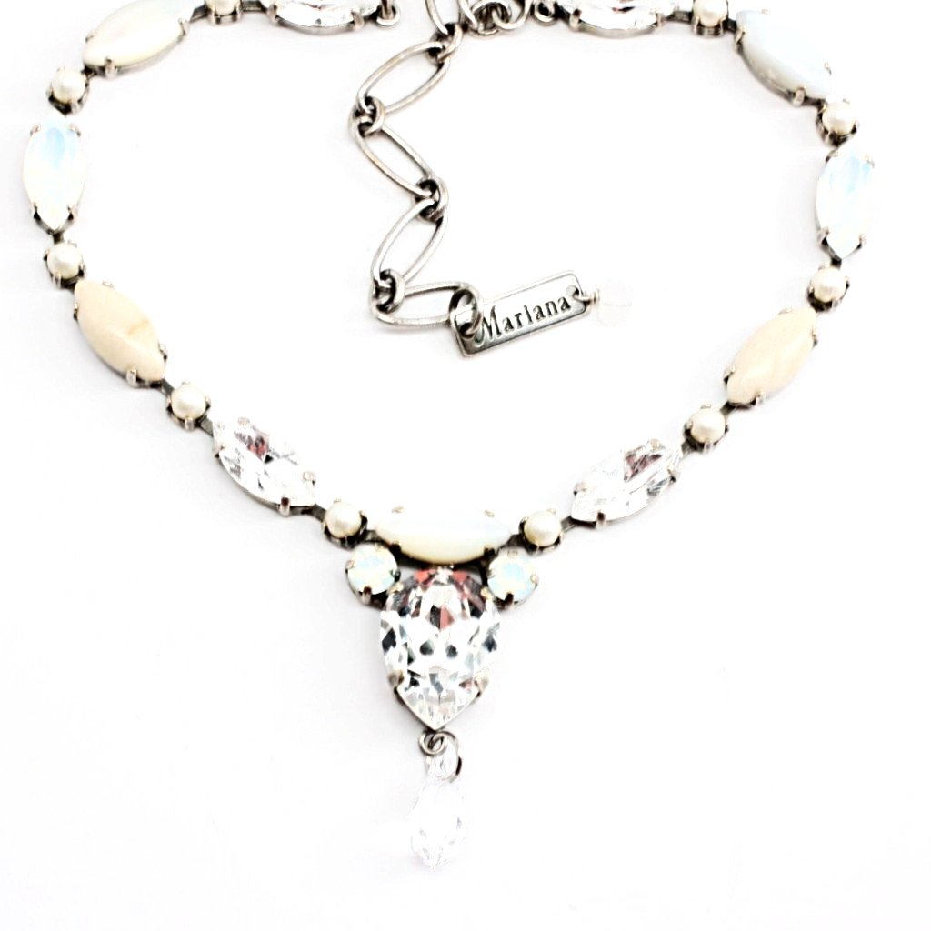 Forever Marquise Crystal Necklace