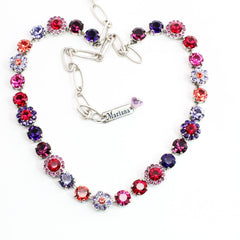 Xenia Collection Crystal Flower Necklace