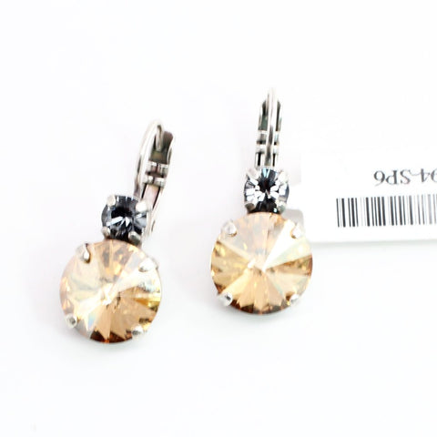 Adeline Collection Rivoli Crystal Earrings