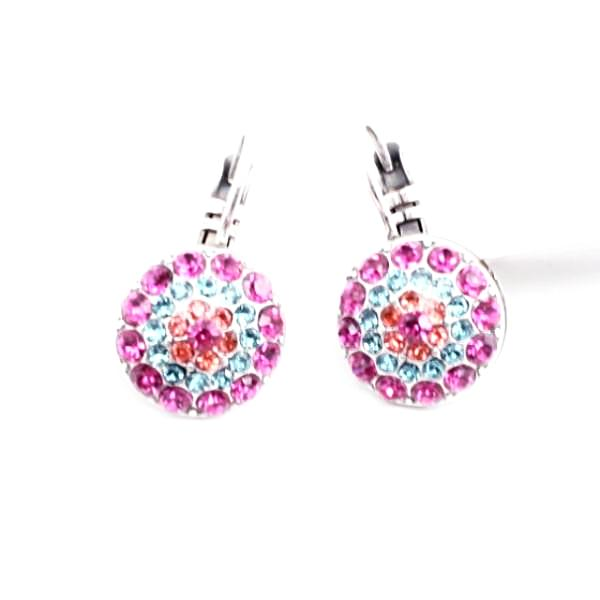 Sorbet Collection Multi Crystal Earrings