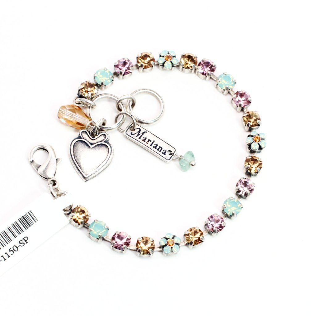 Friendship Collection Petite Crystal Flower Bracelet