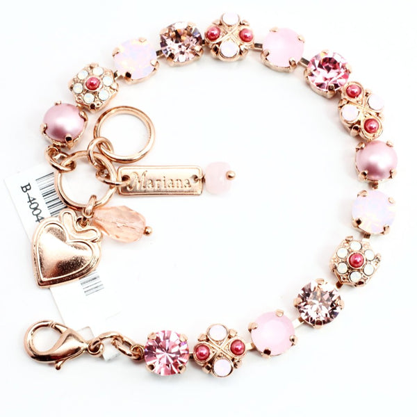 Antigua Collection Ornate Bracelet in Rose Gold