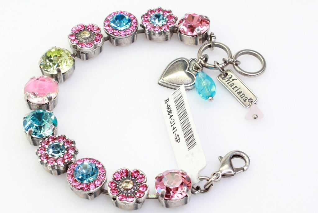 Spring Flowers Collection 11MM Crystal Bracelet