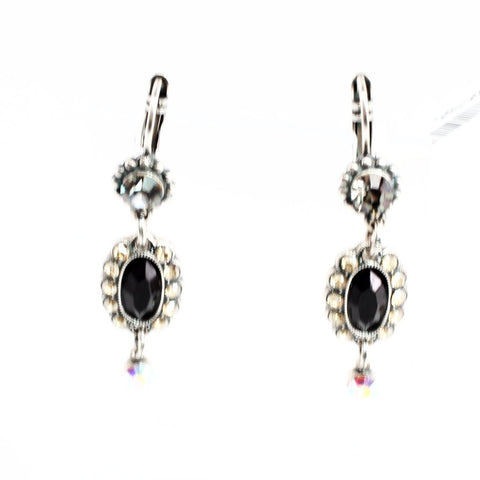 Adeline Oval Accent Earrings