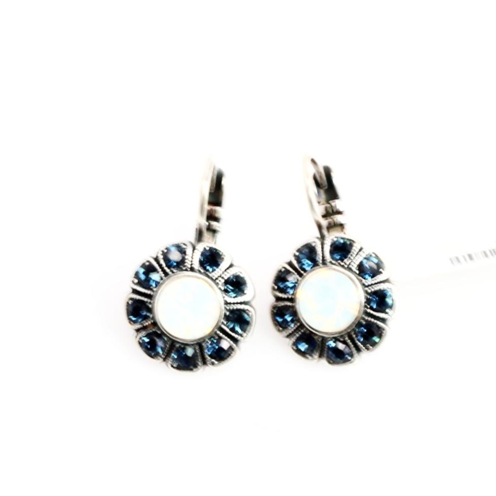 Mood Indigo Collection Crystal Earrings