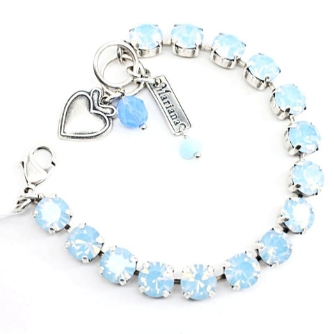 Air Blue Opal Medium Crystal Bracelet