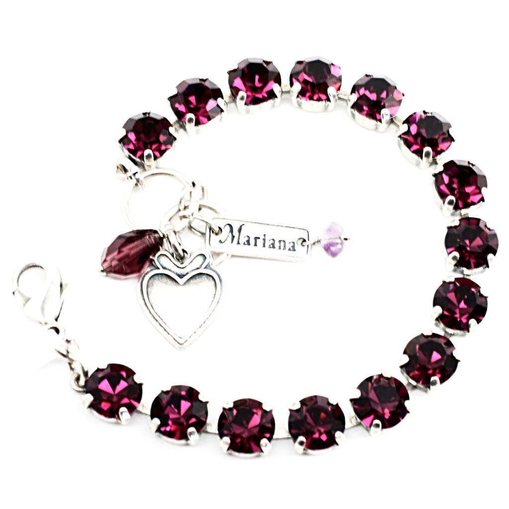 Amethyst Medium Crystal Bracelet