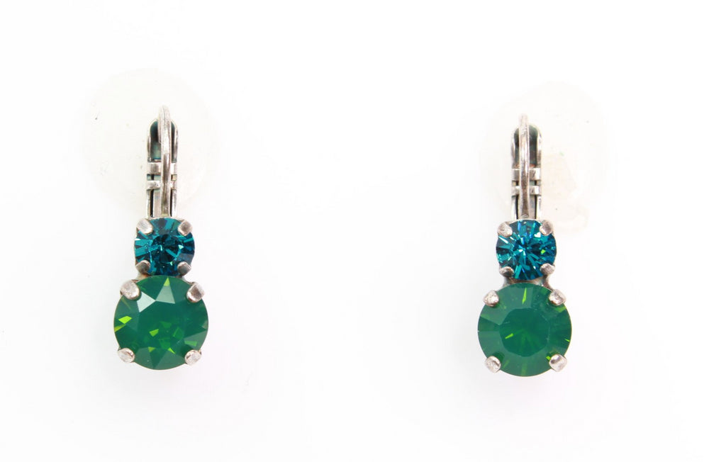 Inspire Collection Medium Double Crystal Earrings