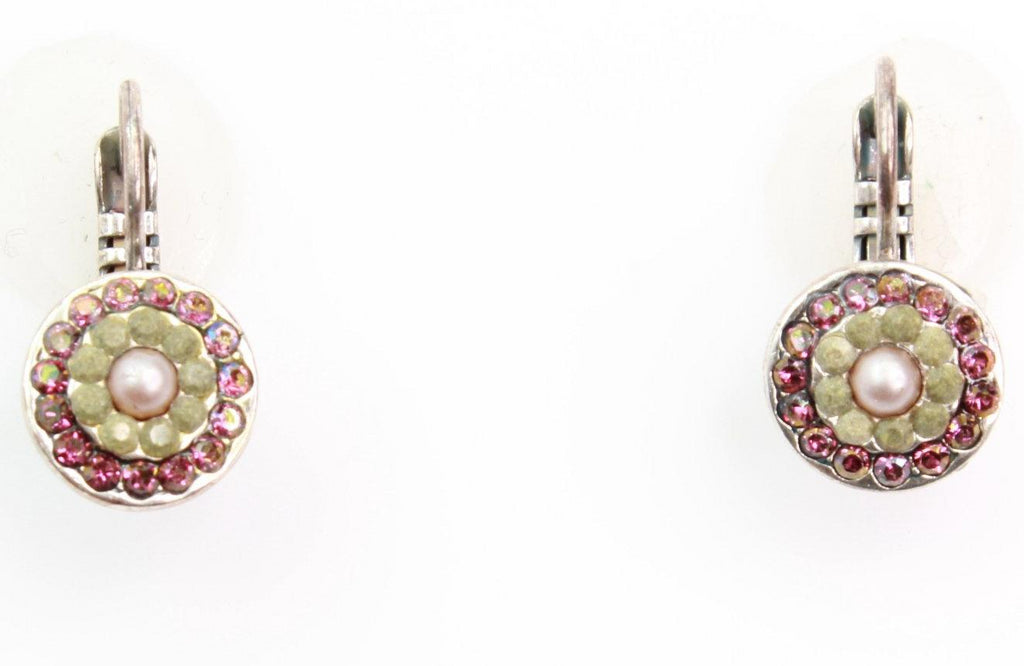 Elizabeth Collection Small Round Earrings