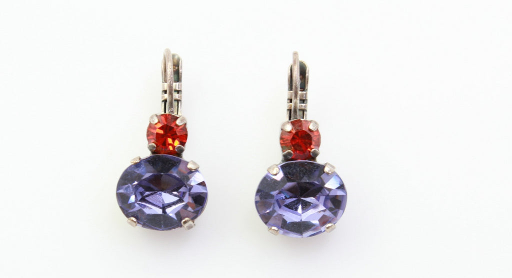 Imagine Collection Double Crystal Earrings