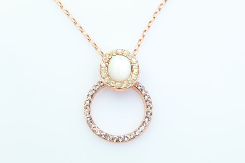 Barbados Collection Pendant in Rose Gold