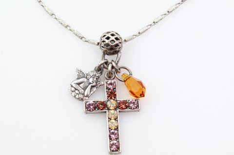 Dream Collection Cross Charm Necklace