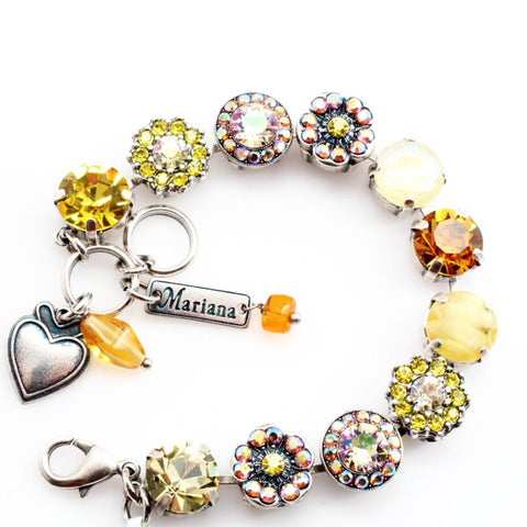 Yellow Brick Road Large Crystal Bracelet