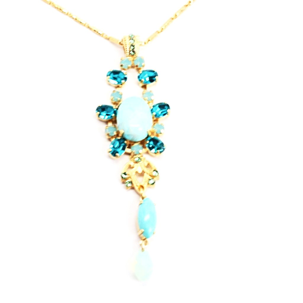 Congo Collection Pendant Necklace in Yellow Gold
