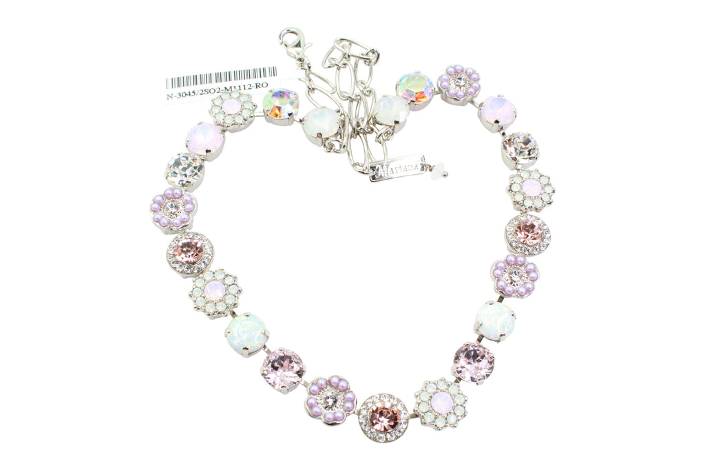 Snowflake Collection Large Classic Crystal Necklace