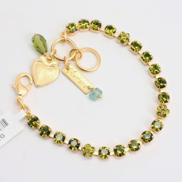 Olivine Petite Bracelet in Yellow Gold
