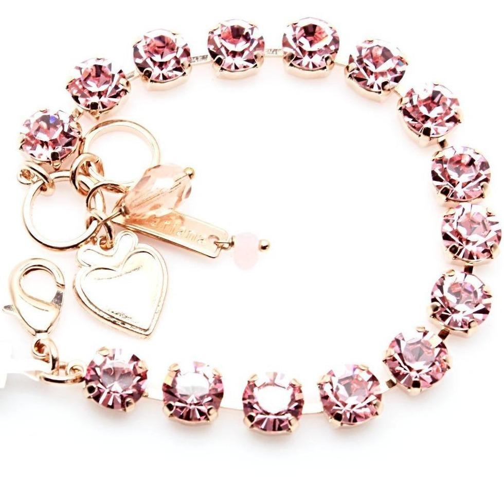 Light Rose Must Have Crystal Bracelet in Rose Gold
