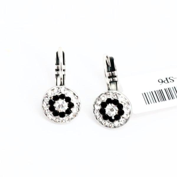 Checkmate Collection Multi Crystal Earrings