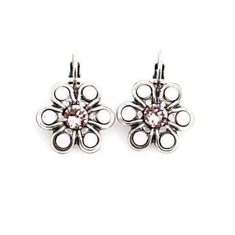 Antigua Collection Crystal Daisy Earrings