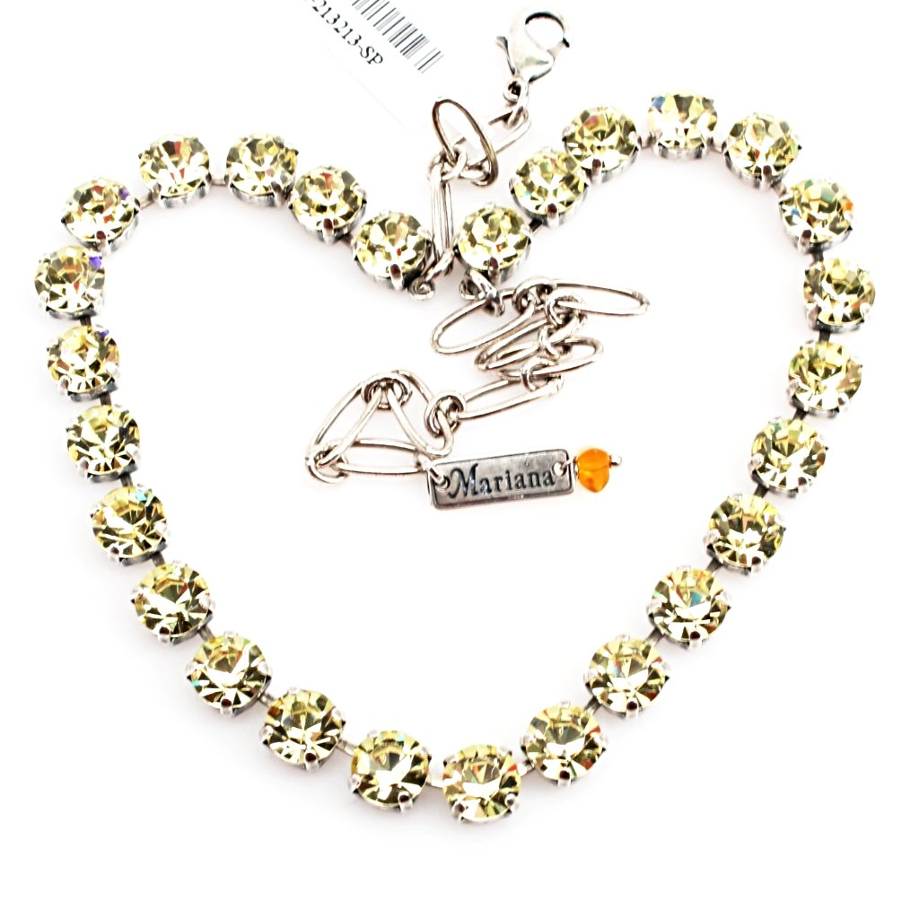 Jonquil Medium Crystal Necklace