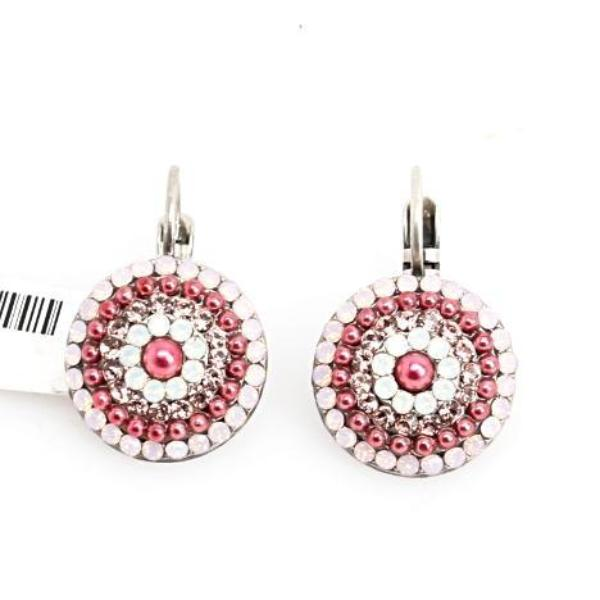Antigua Collection Ornate Multi Crystal Earrings