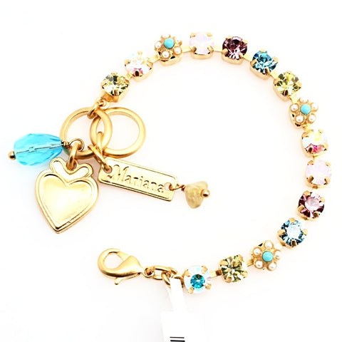 Coco Collection Petite Bracelet in Yellow Gold - CHILD SIZE