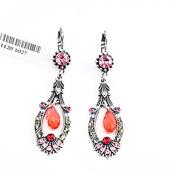 Joy Collection Long Crystal Earrings