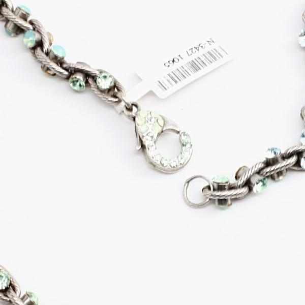 Mojito Collection Silver Link Necklace