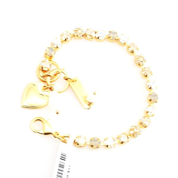 Champagne and Caviar Petite Bracelet in Yellow Gold