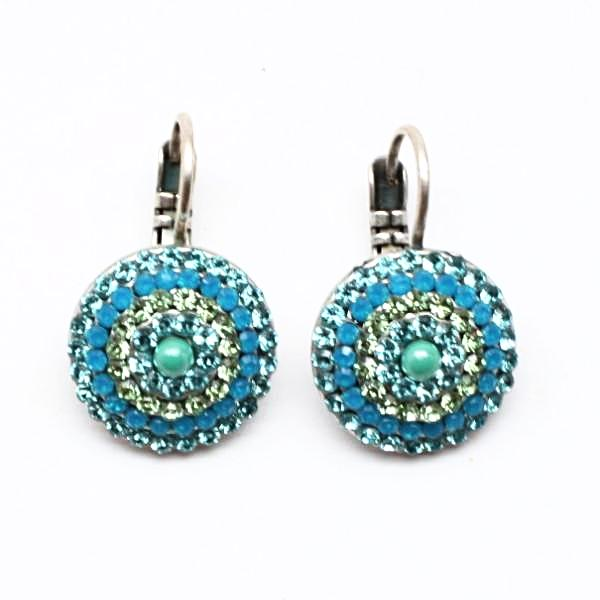 Caprioska Multi Crystal Earrings