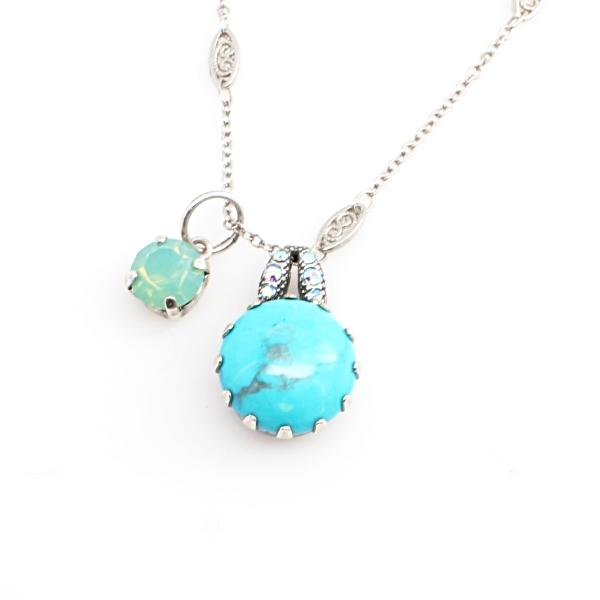 Bliss Crystal Pendant Necklace