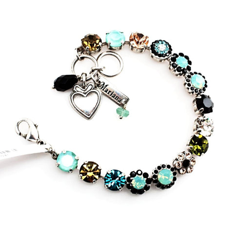 Cannoli Collection Medium Flower Bracelet