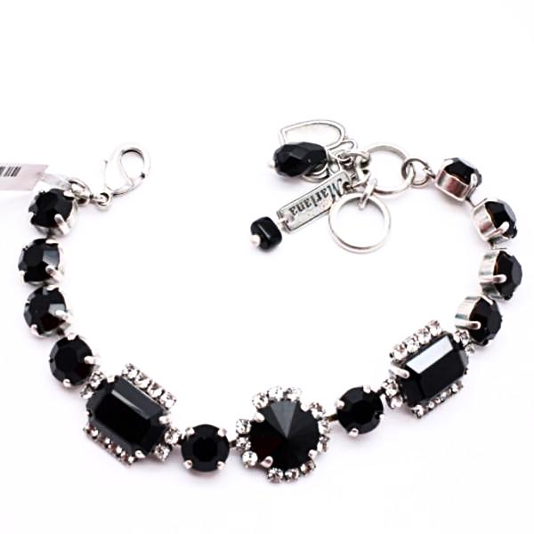 Checkmate Collection Multi Crystal Bracelet